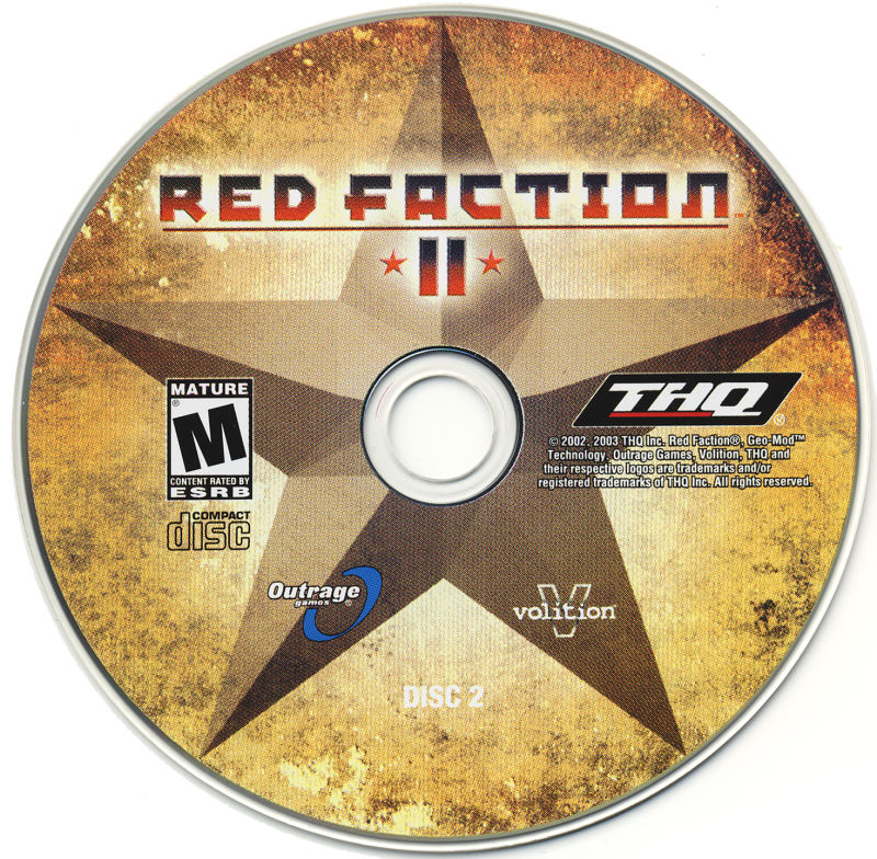 Red Faction II Windows Media Disc 2