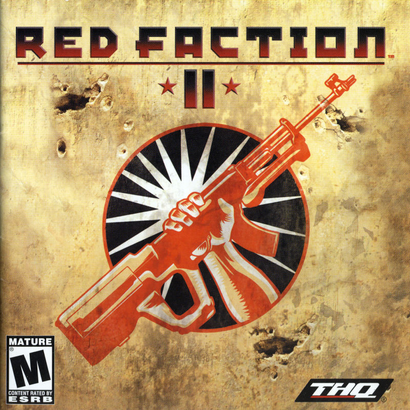 Red Faction II Windows Other Jewel Case - Front