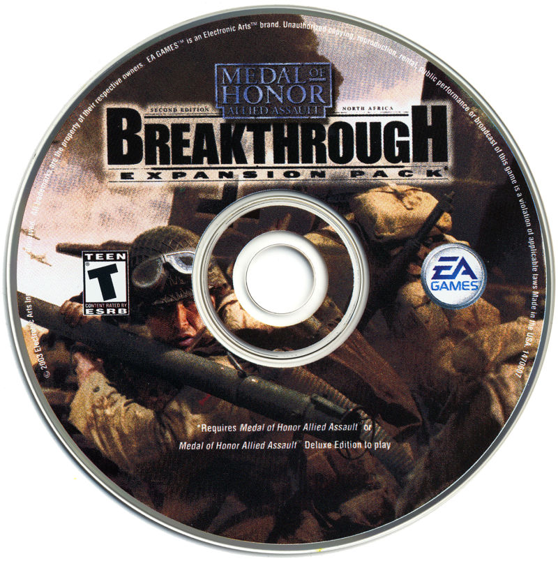 Medal of Honor: Allied Assault - Breakthrough Windows Media
