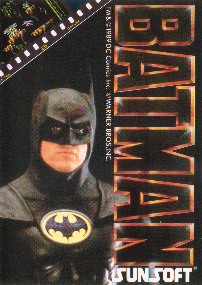 Batman: The Video Game (1989) NES box cover art - MobyGames
