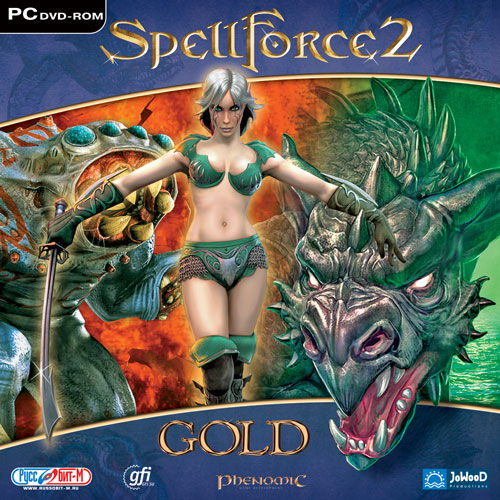 SpellForce 2: Gold Edition Windows Front Cover