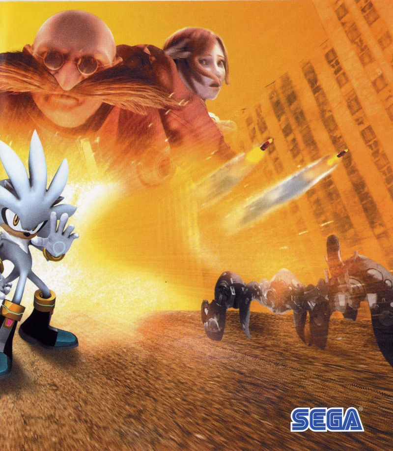 Sonic the Hedgehog PlayStation 3 Inside Cover Right Side
