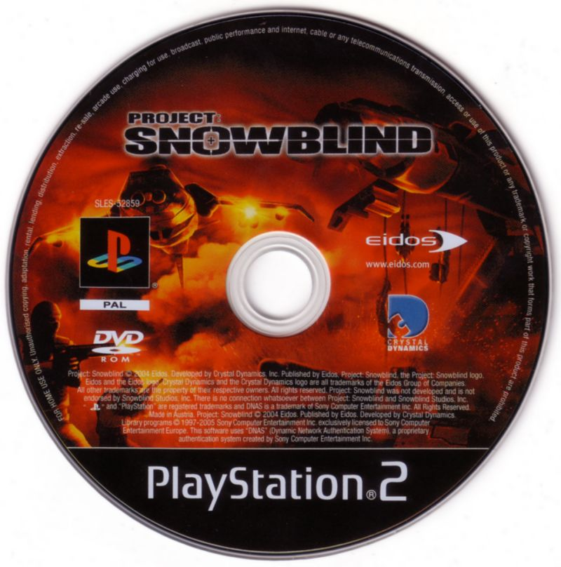Project: Snowblind PlayStation 2 Media