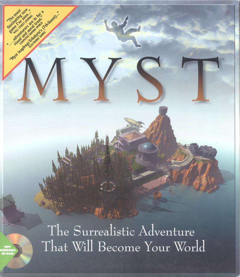 Myst Windows Front Cover