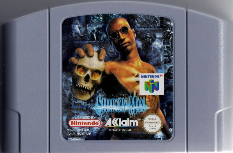 Shadow Man Nintendo 64 Media