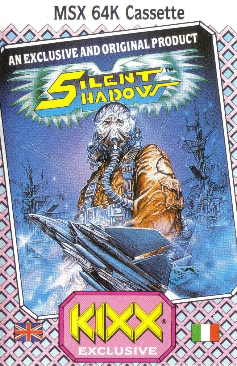 Silent Shadow MSX Front Cover