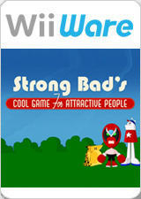 Strong Bad's Cool Game for Attractive People: Episode 1 - Homestar Ruiner Wii Front Cover