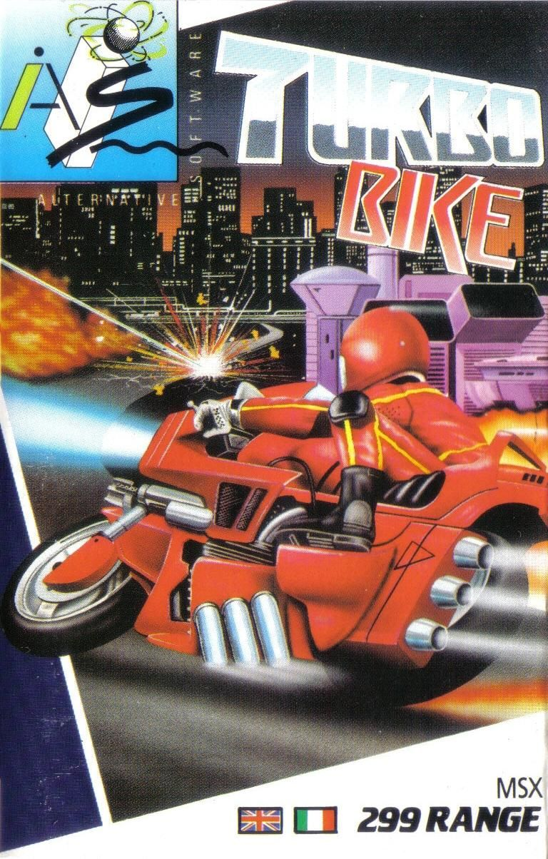 Turbo Girl MSX Front Cover