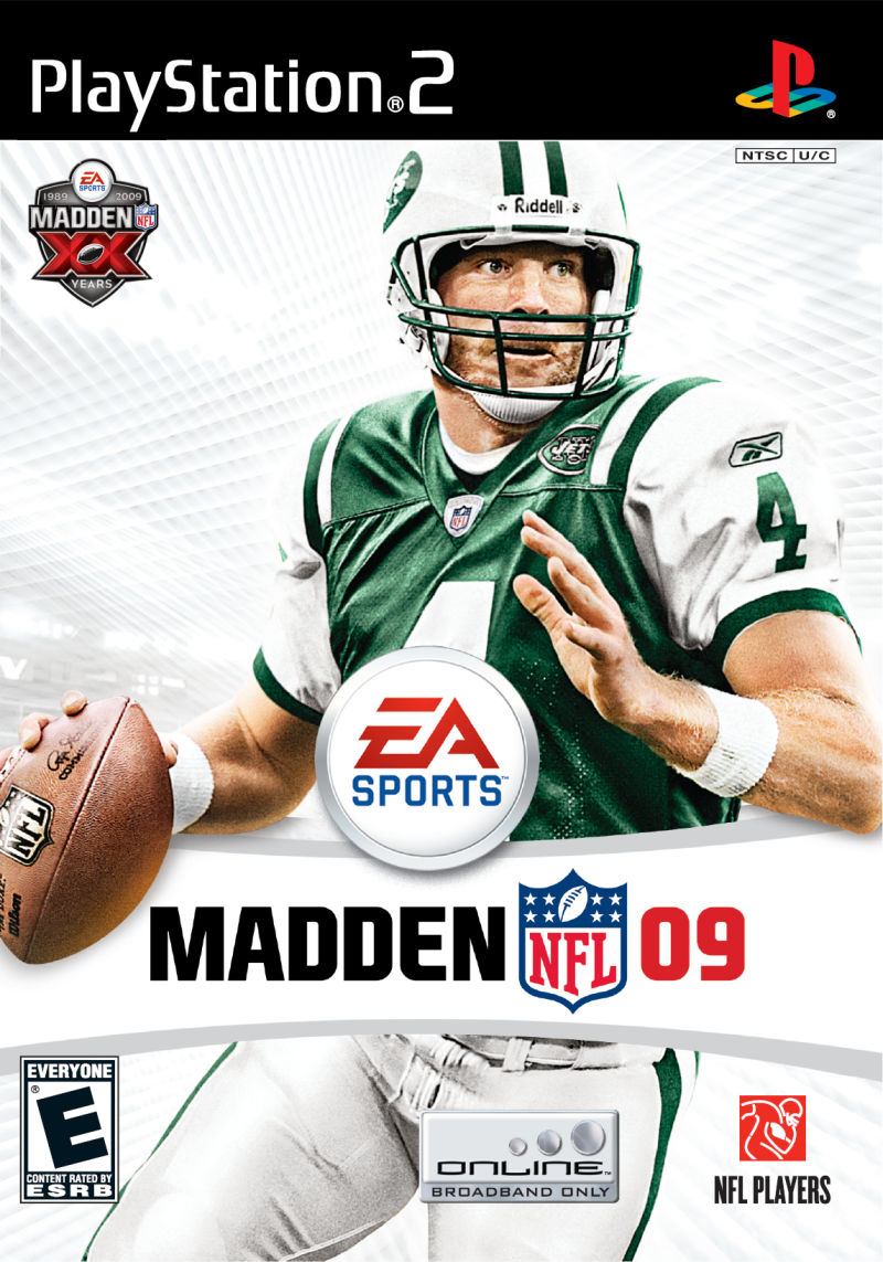 Madden NFL 09 PlayStation 2 Front Cover