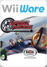SPOGS Racing Wii Front Cover