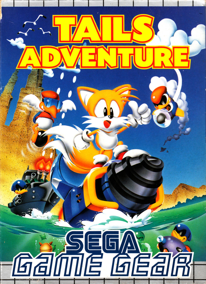 Tails Adventure Game Gear Front Cover