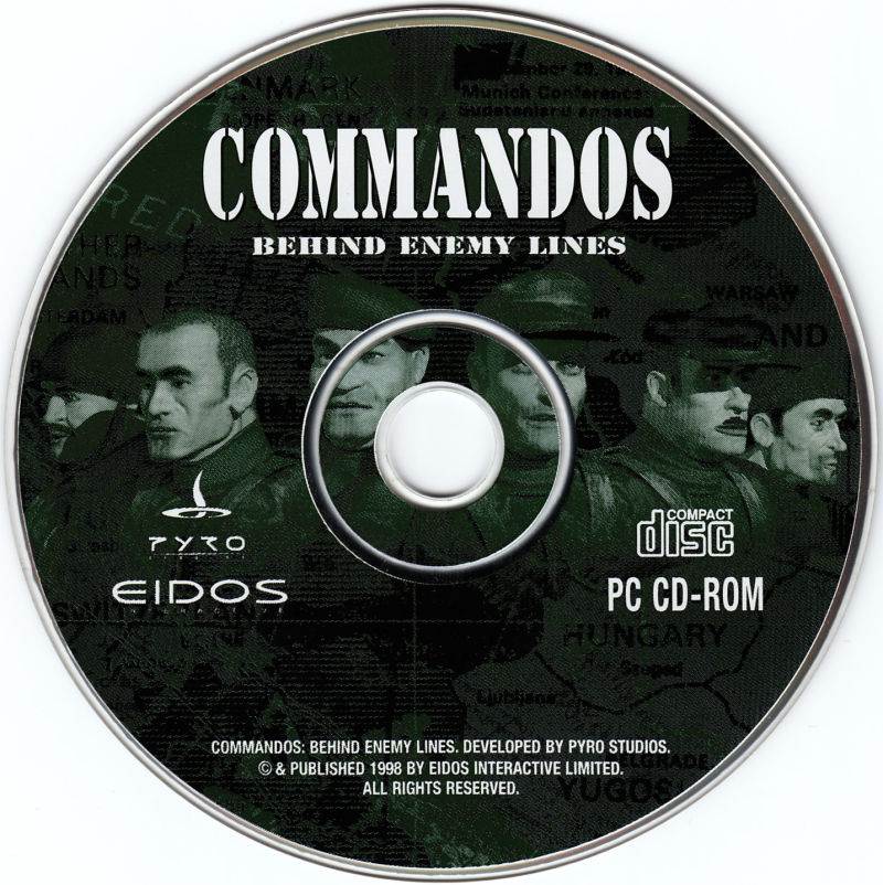 Commandos: Behind Enemy Lines Windows Media