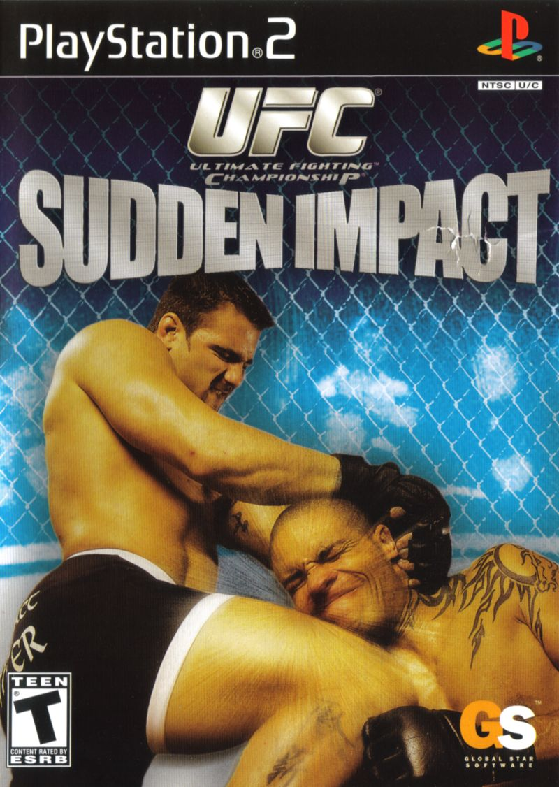 UFC Sudden Impact PlayStation 2 Front Cover