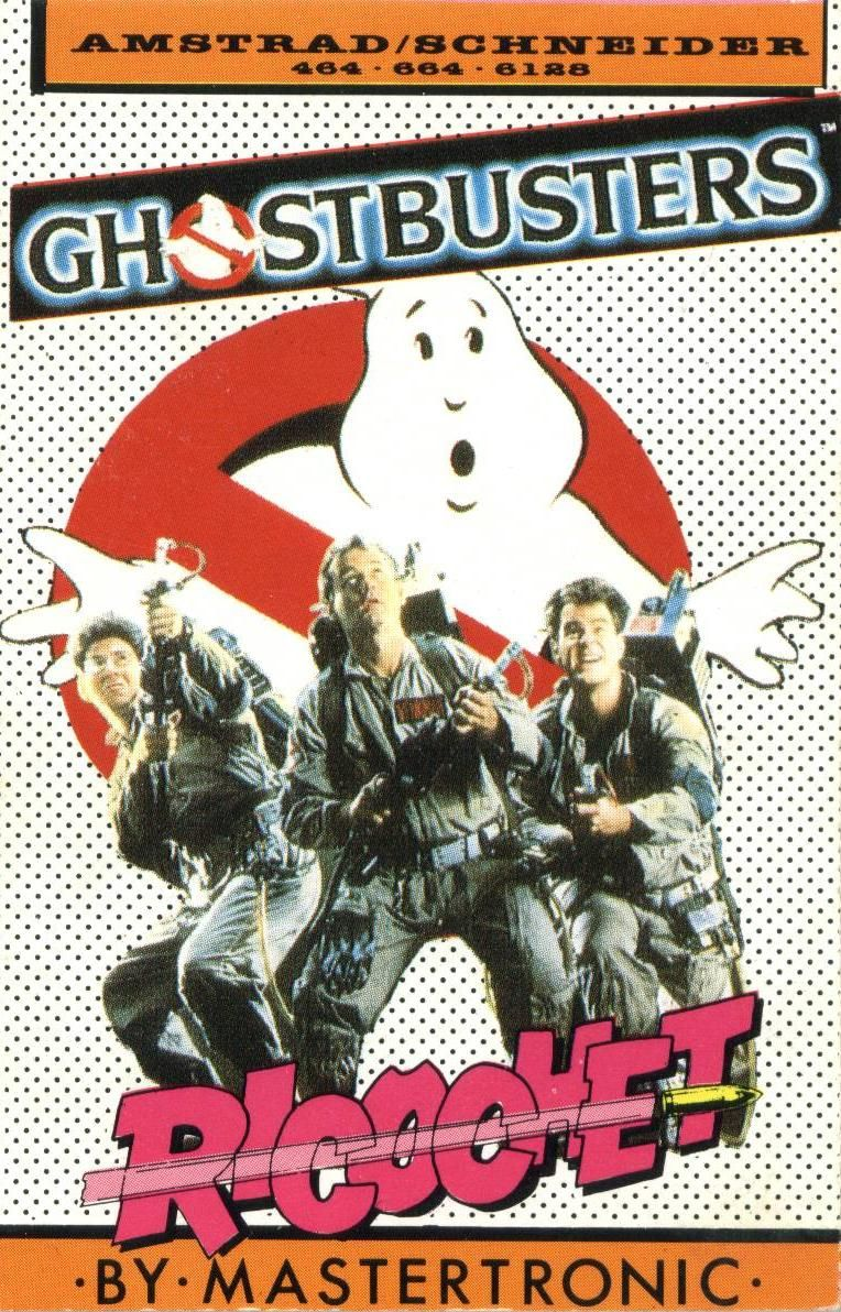 Ghostbusters Amstrad CPC Front Cover