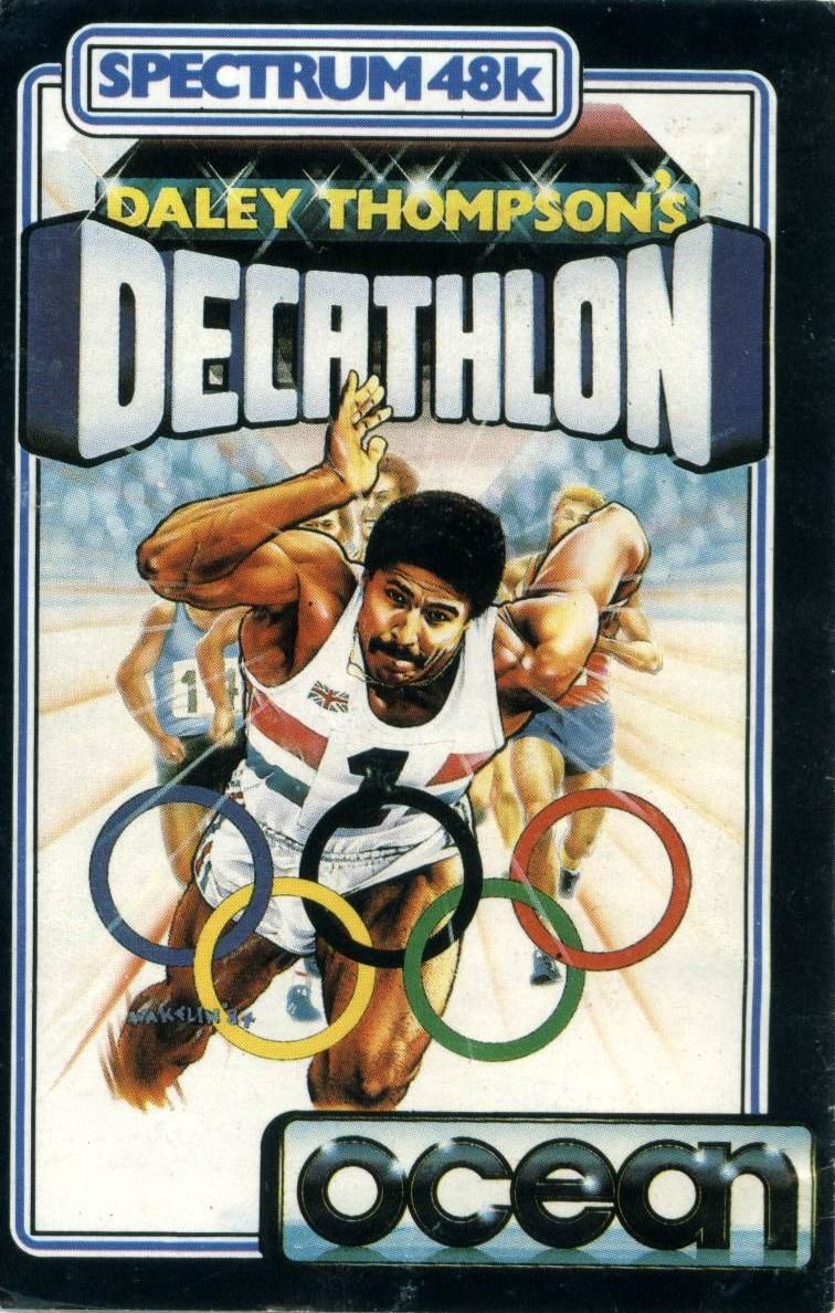 Daley Thompson's Decathlon ZX Spectrum Front Cover
