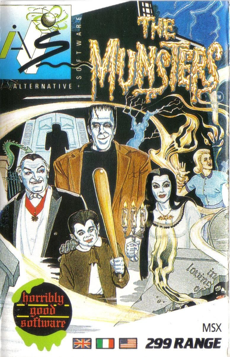 The Munsters MSX Front Cover