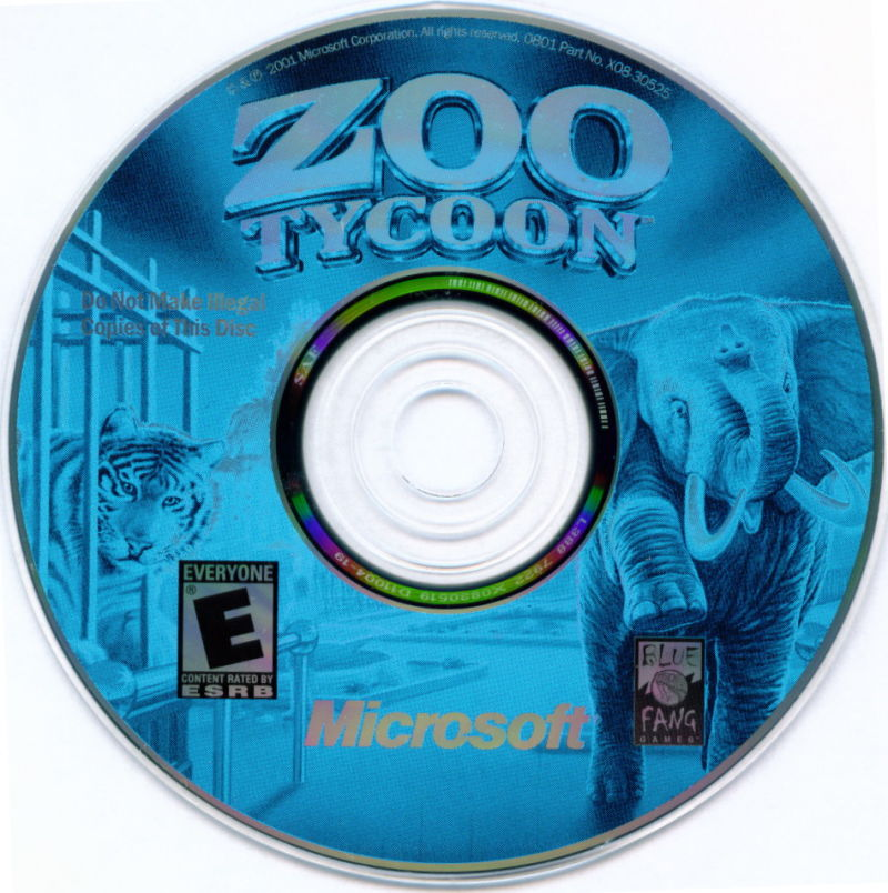 Zoo Tycoon Windows Media