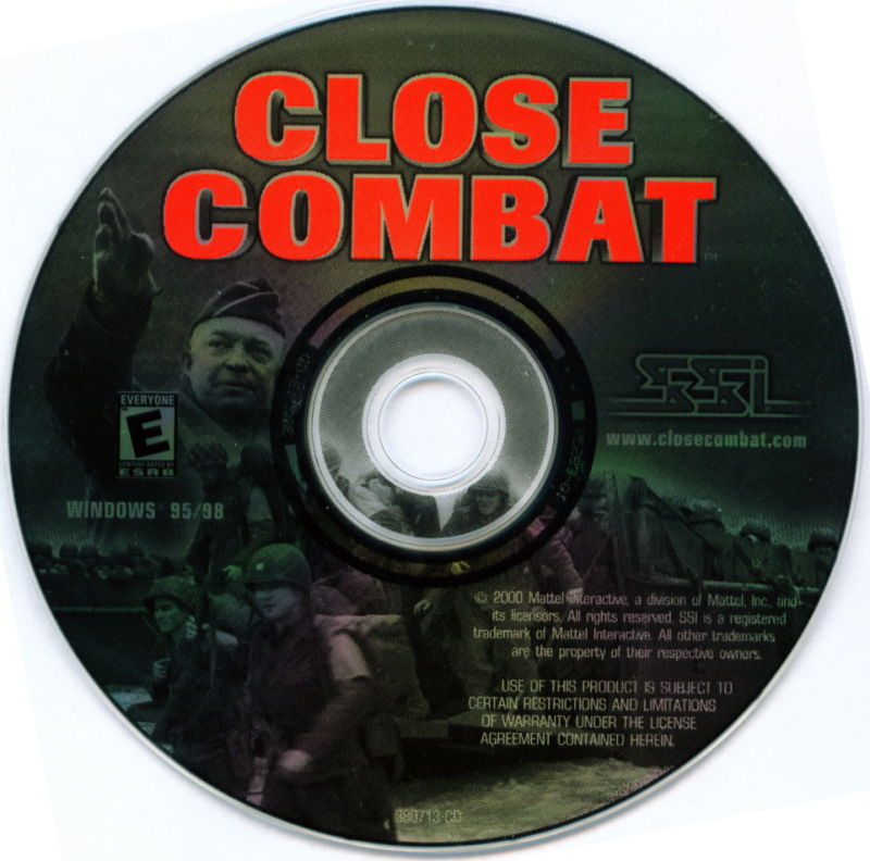 Close Combat: Invasion: Normandy - Utah Beach to Cherbourg Windows Media