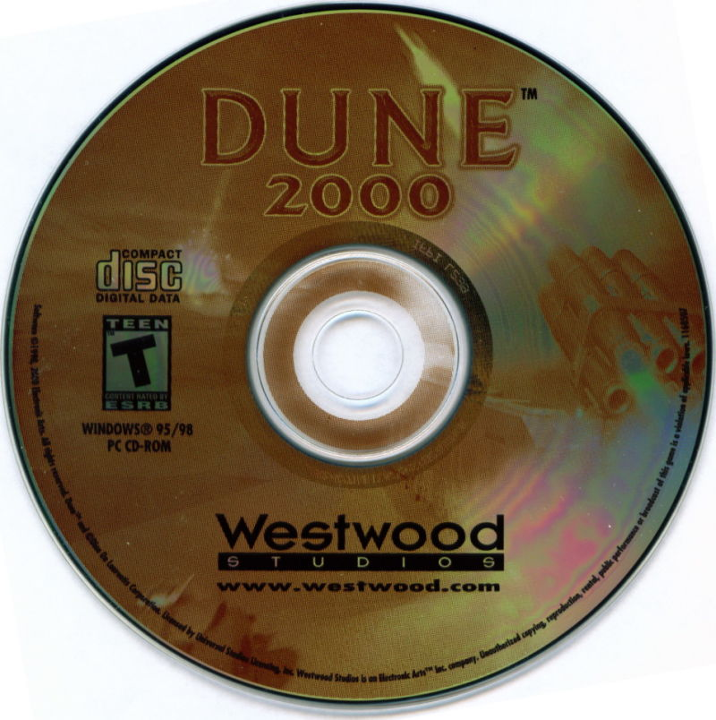 Electronic Arts Top Ten - Blue Windows Media Dune 2000