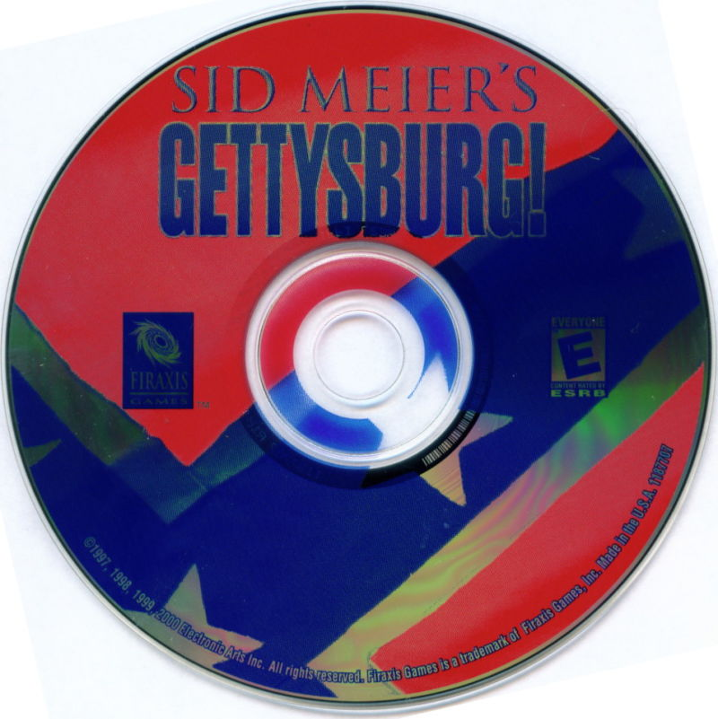 Electronic Arts Top Ten - Blue Windows Media Gettysburg