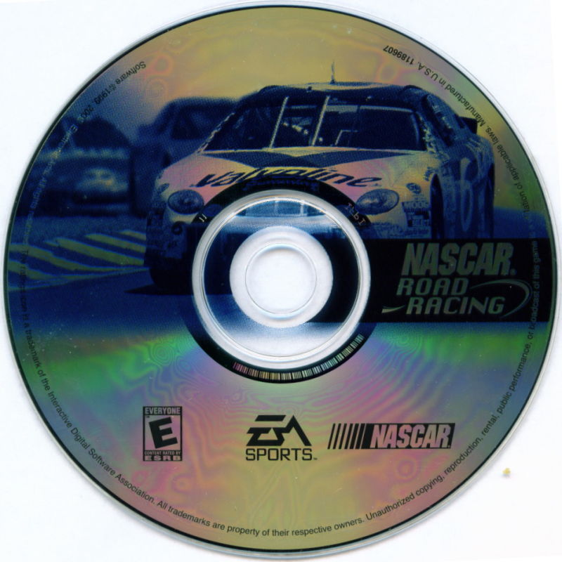 Electronic Arts Top Ten - Blue Windows Media NASCAR Road Racing