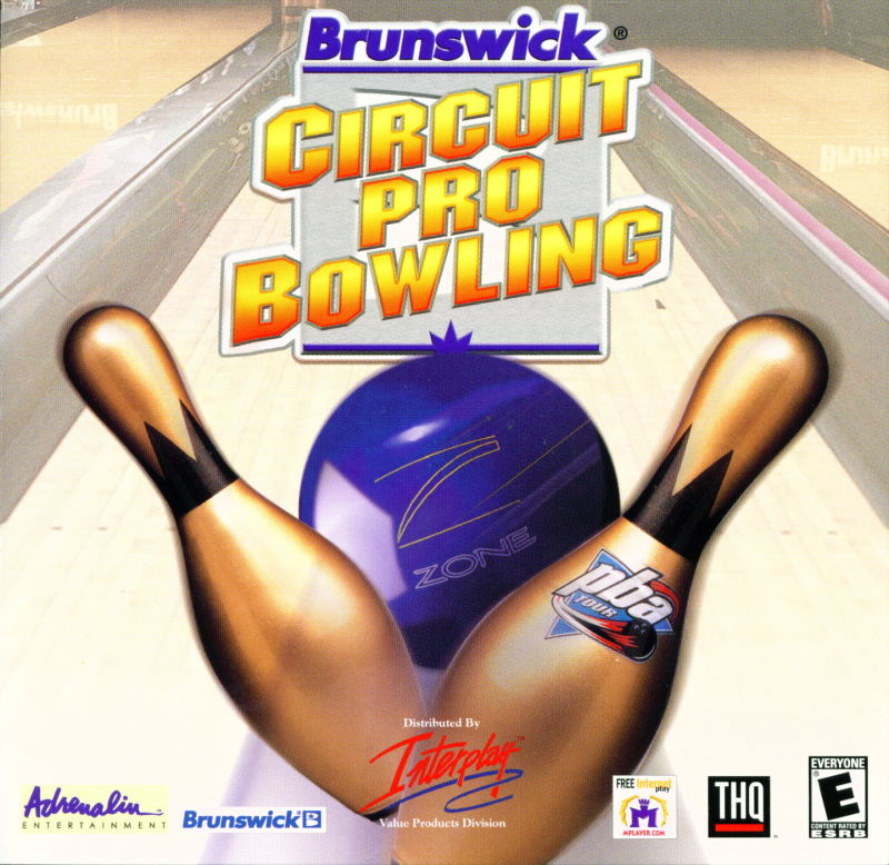 Brunswick Circuit Pro Bowling Windows Other Jewel Case - Front