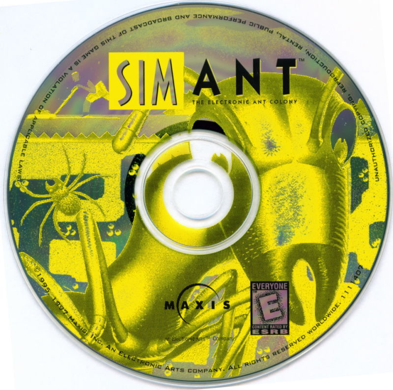 SimAnt: The Electronic Ant Colony Windows 3.x Media