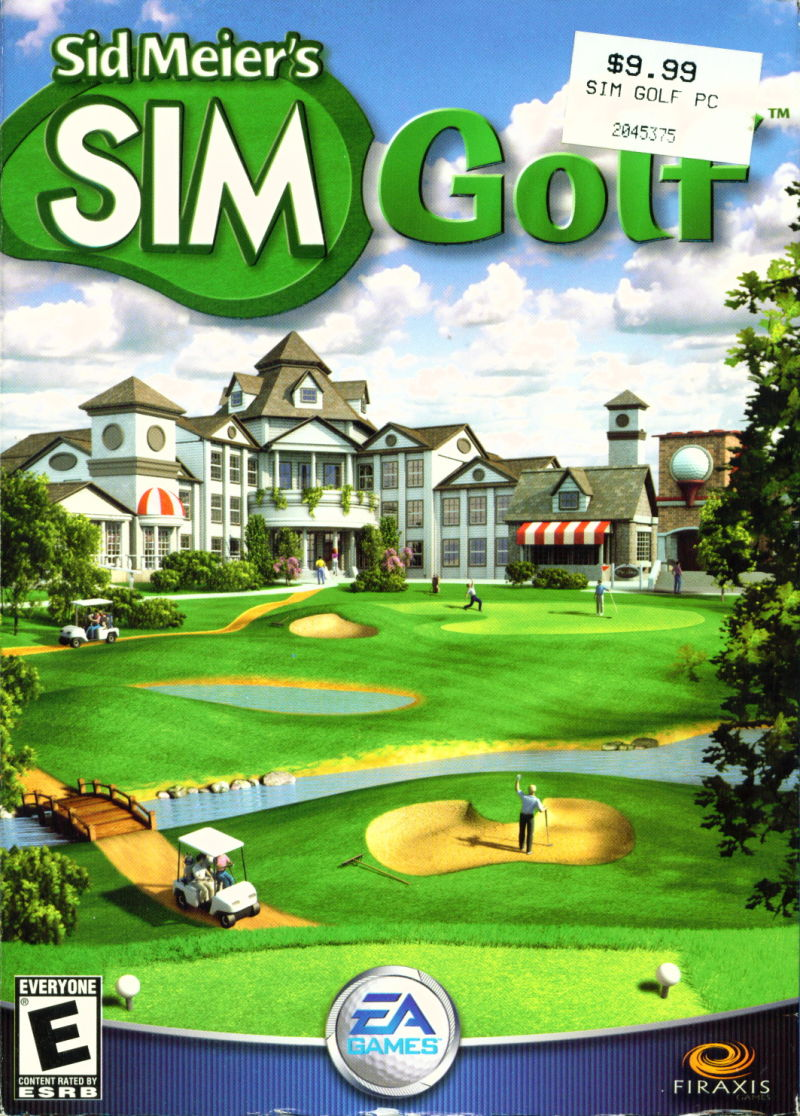 Sid Meier's SimGolf Windows Front Cover