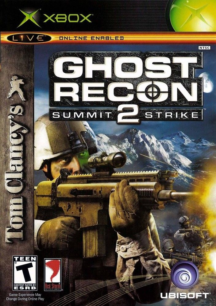 Tom Clancy's Ghost Recon 2: Summit Strike Xbox Front Cover