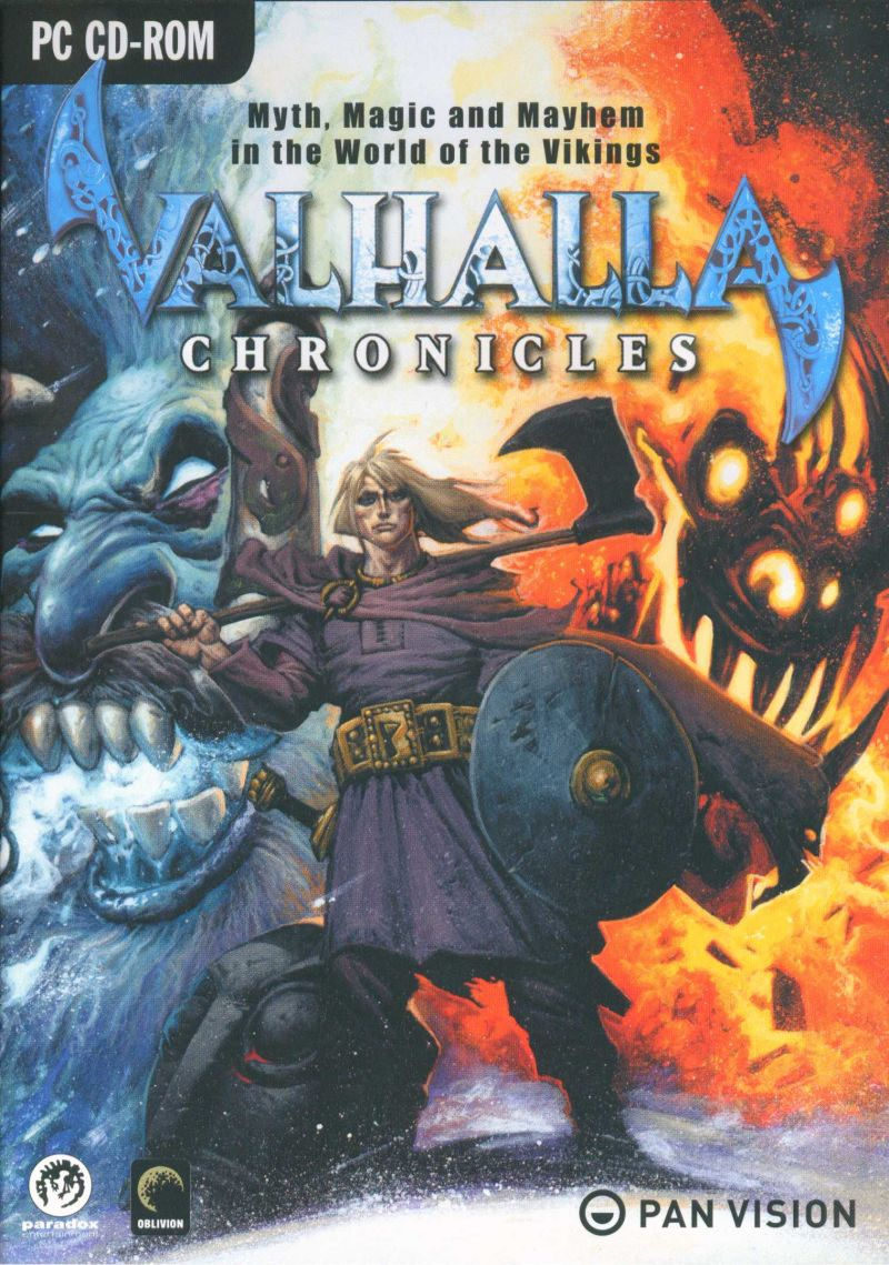 Valhalla Chronicles Windows Front Cover