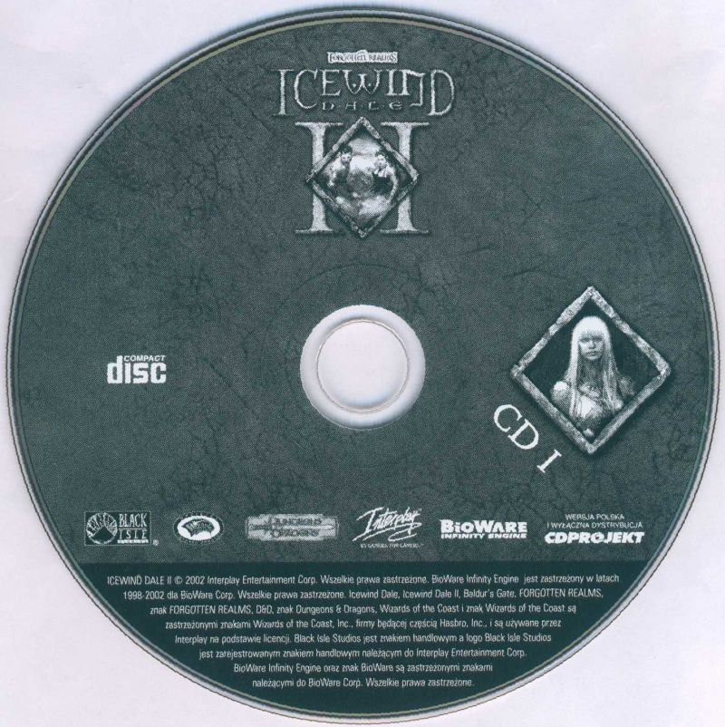 Icewind Dale II Windows Media Disc 1