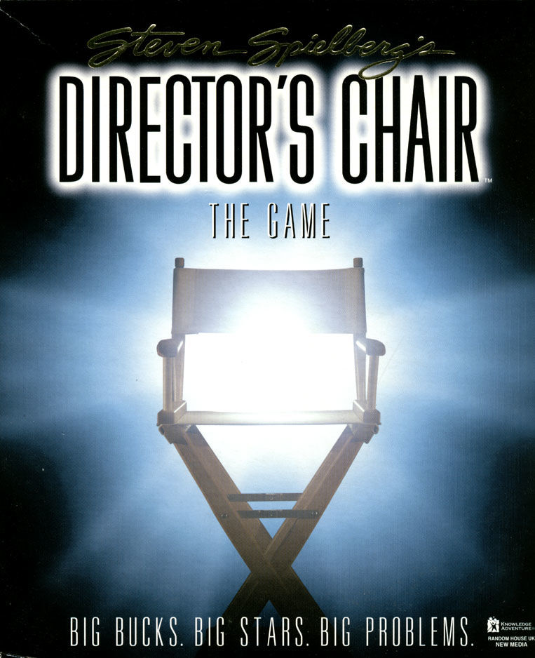 Steven Spielberg's Director's Chair Windows Front Cover
