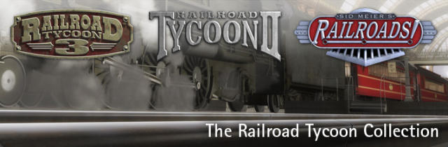 Railroad Tycoon Collection Windows Front Cover