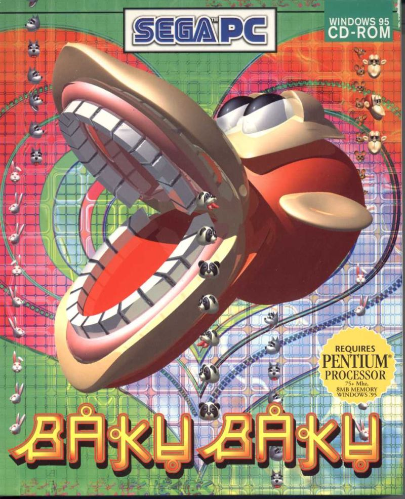 Baku Baku Animal Windows Front Cover