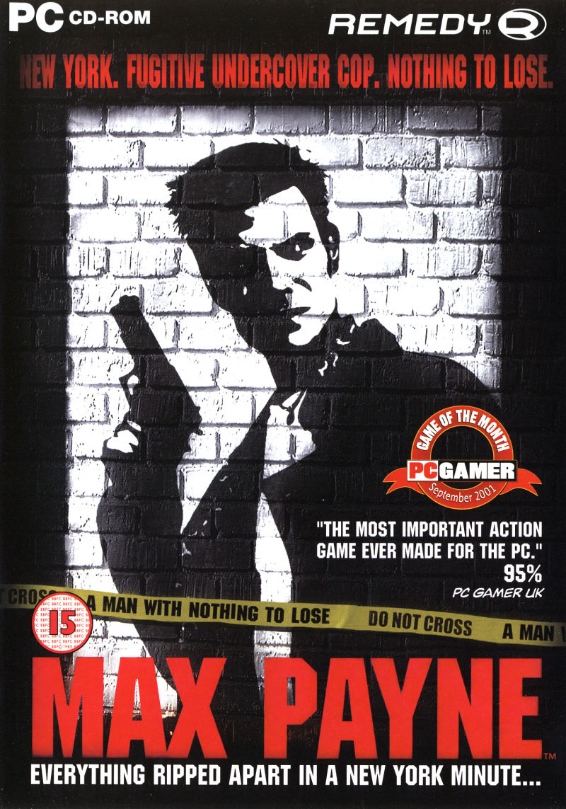 Max Payne Windows Front Cover