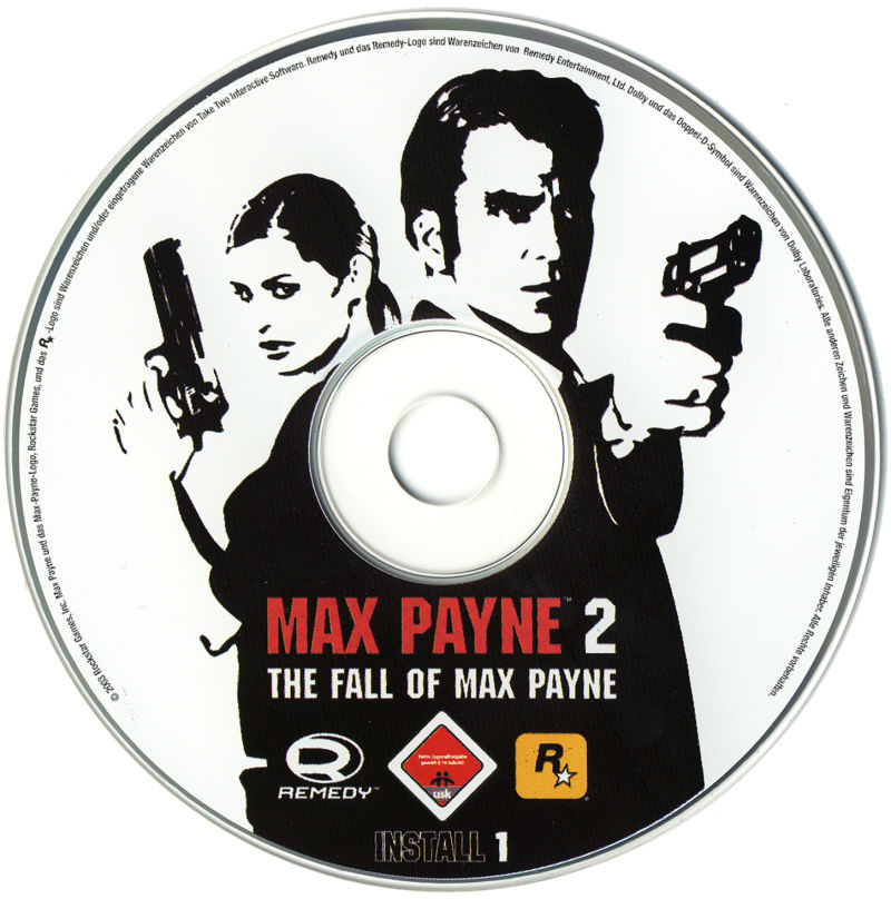 Max Payne 2: The Fall of Max Payne Windows Media Disc 1
