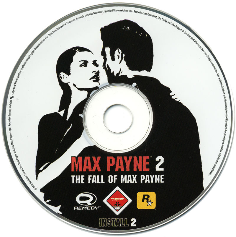 Max Payne 2: The Fall of Max Payne Windows Media Disc 2