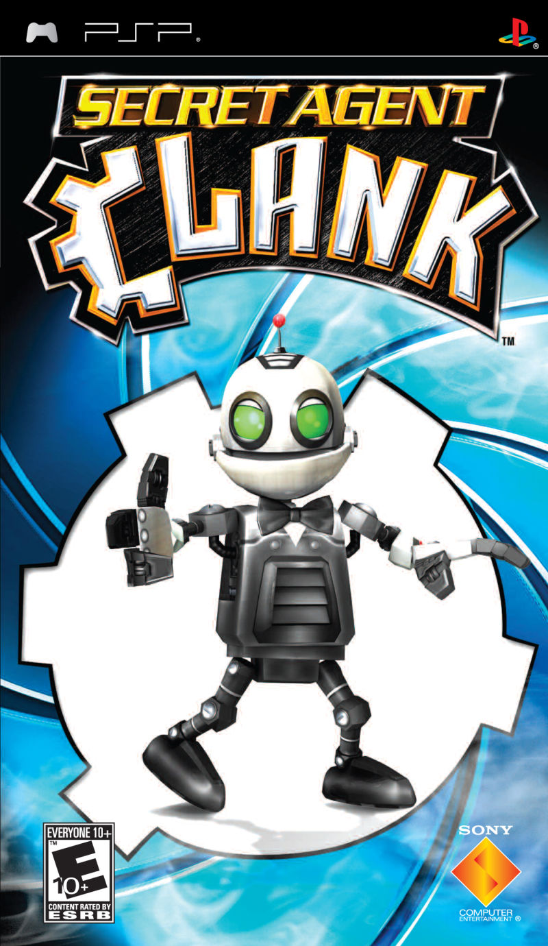Secret Agent Clank PSP Front Cover
