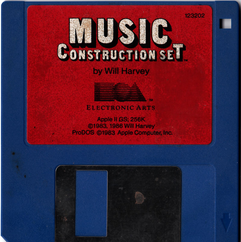 Will Harvey's Music Construction Set Apple IIgs Media