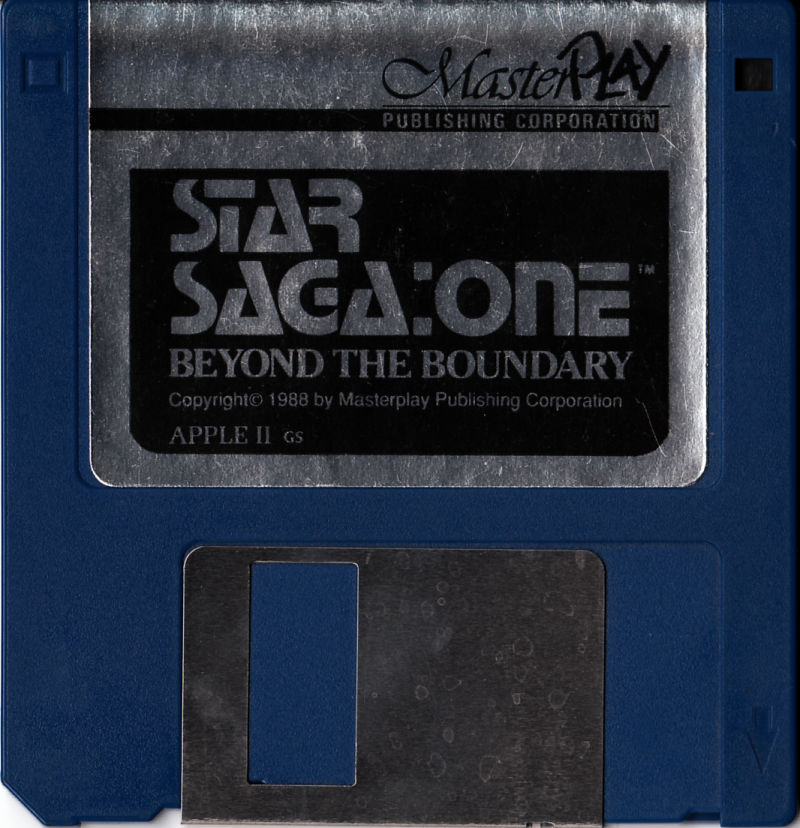 Star Saga: One - Beyond the Boundary Apple IIgs Media