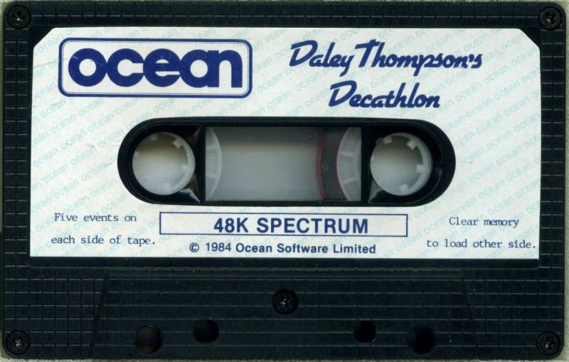 Daley Thompson's Decathlon ZX Spectrum Media