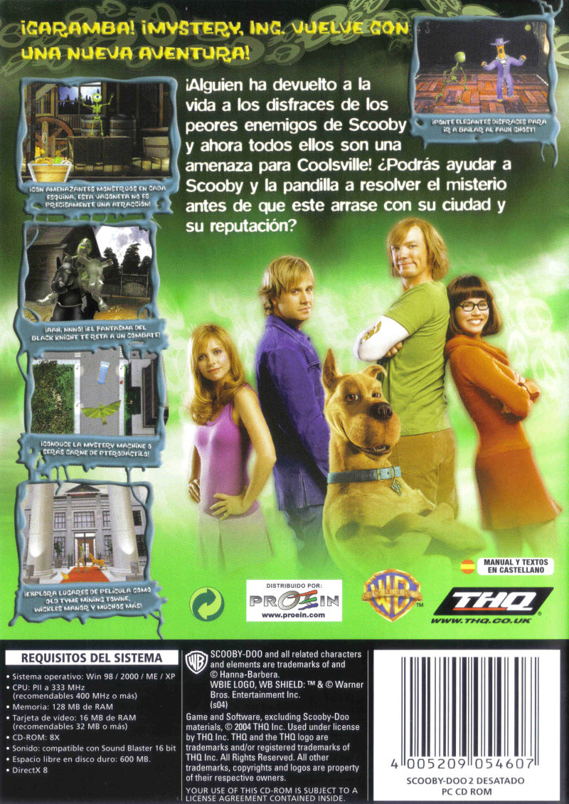 Scooby Doo 2 Monsters Unleashed 2004 Windows Box Cover Art Mobygames