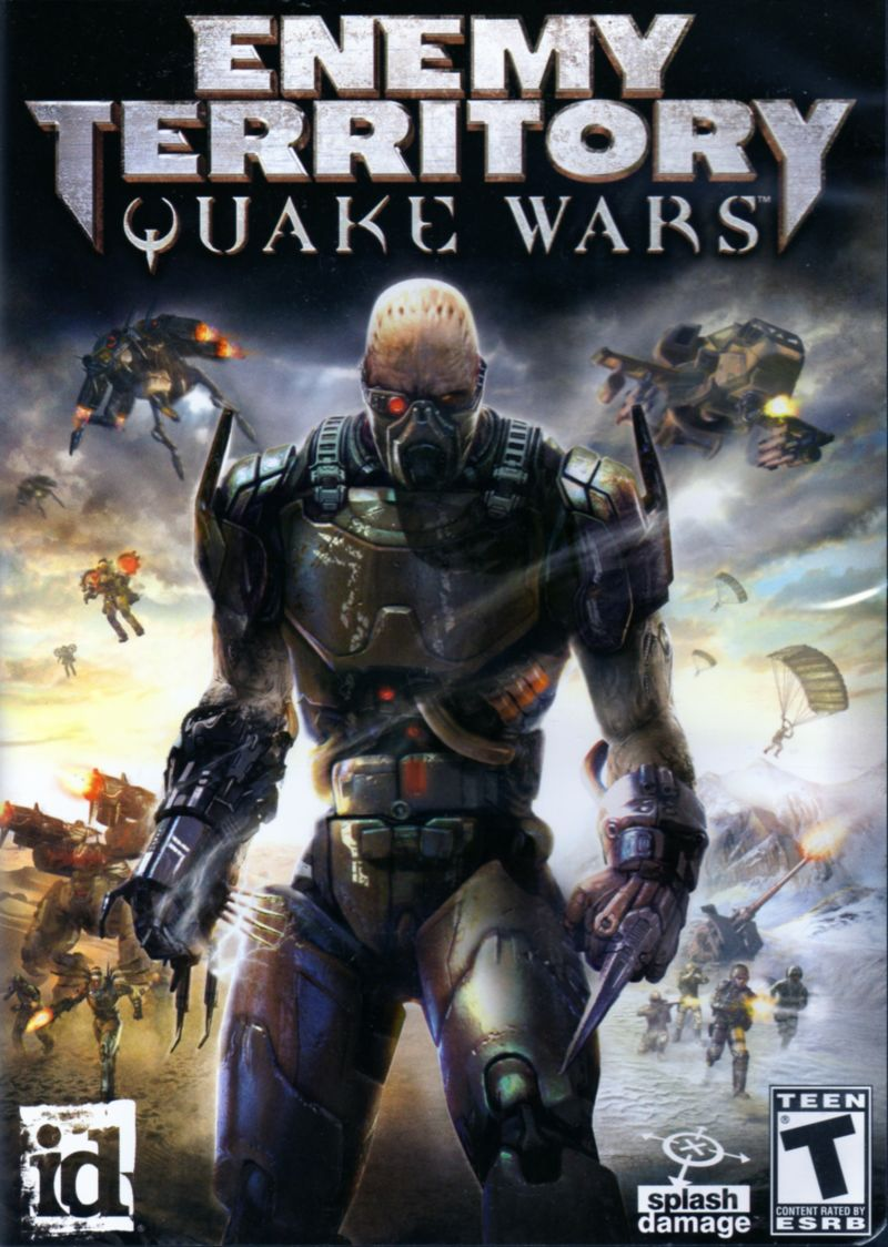 Enemy Territory: Quake Wars Macintosh Front Cover