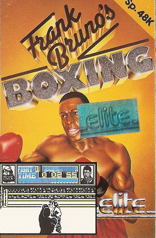 Frank Bruno's Boxing ZX Spectrum Front Cover