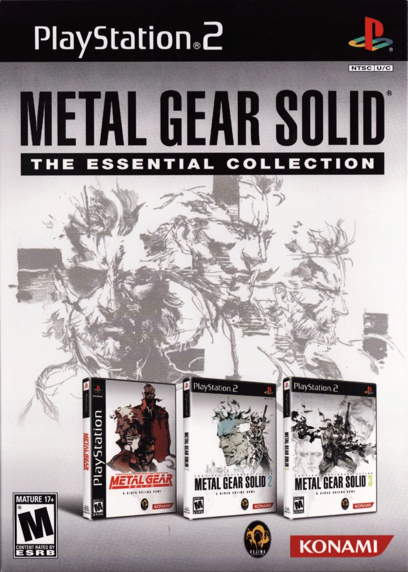 Metal Gear Solid: The Essential Collection PlayStation Front Cover