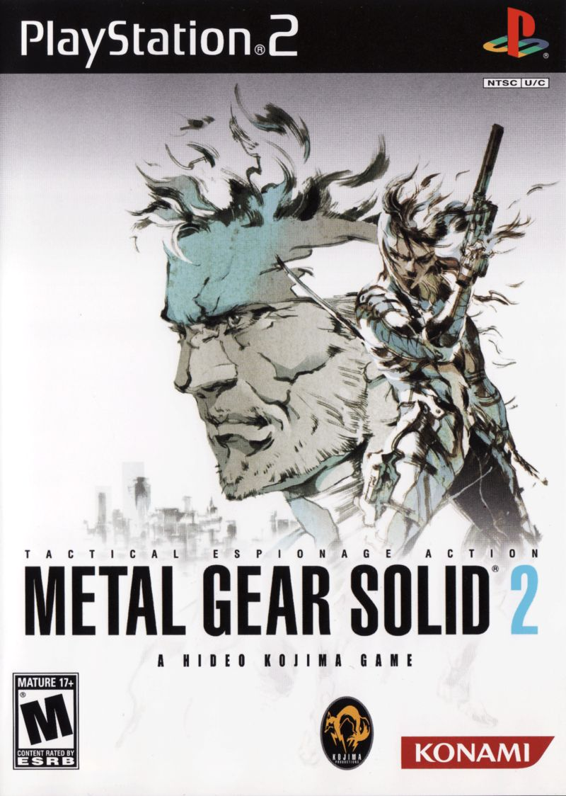 Metal Gear Solid: The Essential Collection PlayStation Other Metal Gear Solid 2 - Keep Case - Front