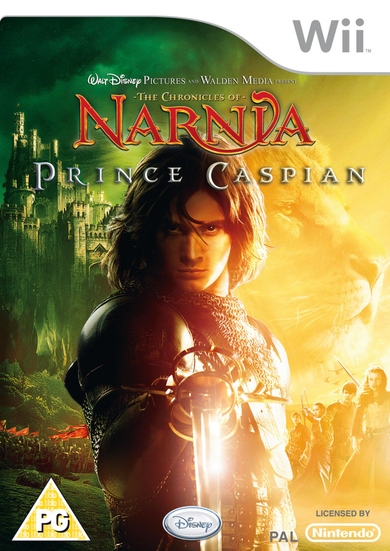 The Chronicles of Narnia: Prince Caspian Wii Front Cover
