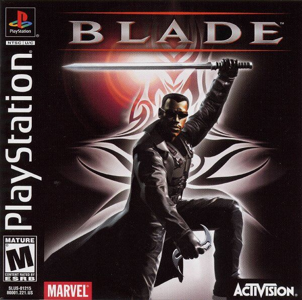 Blade PlayStation Front Cover