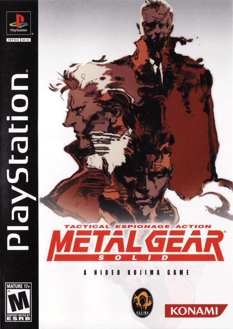 Metal Gear Solid: The Essential Collection PlayStation Other Metal Gear Solid - Keep Case - Front