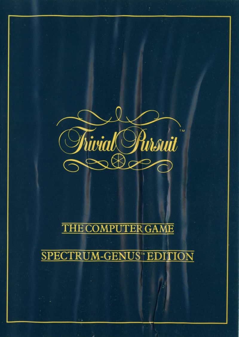 Trivial Pursuit ZX Spectrum Front Cover